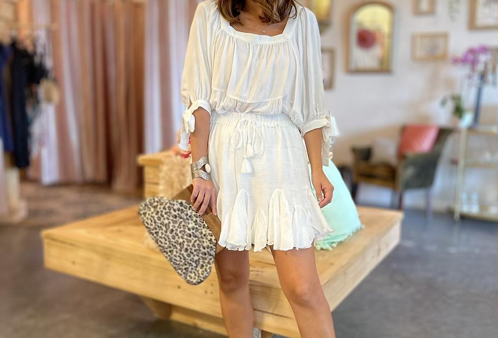 Málaga Tunic White Top