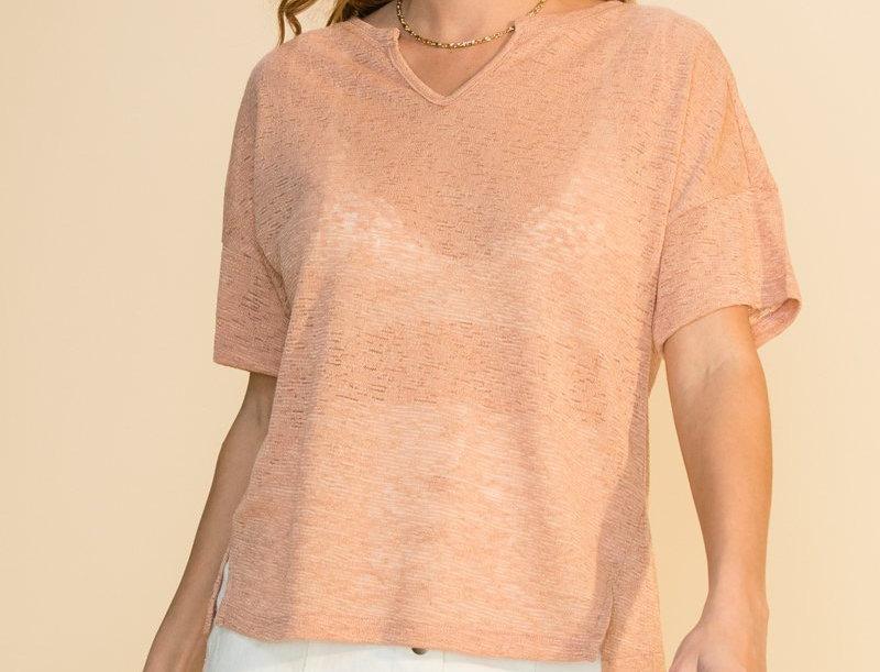 Summer Basic T.Shirt -Terra