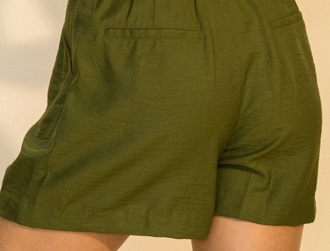 Nova High Waisted Pants- Olive