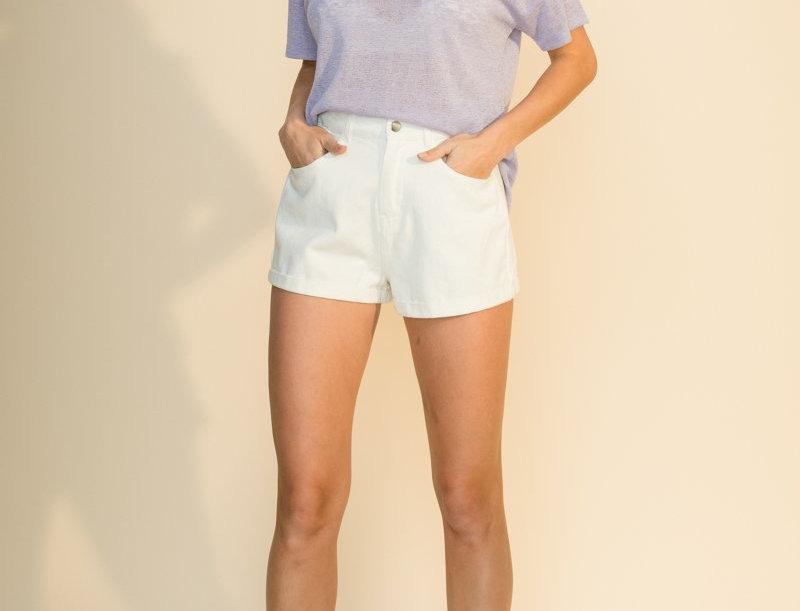Summer Basic T.Shirt -Lilac