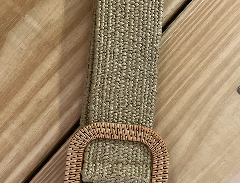 Beta Small Square Buckle Belt- Voffee