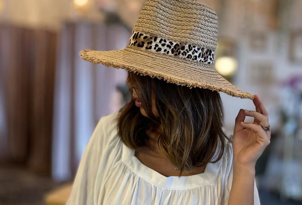 Wild at Heart -Leo Panama Hat