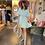 Thumbnail: Macarena Sage Flowy Dress
