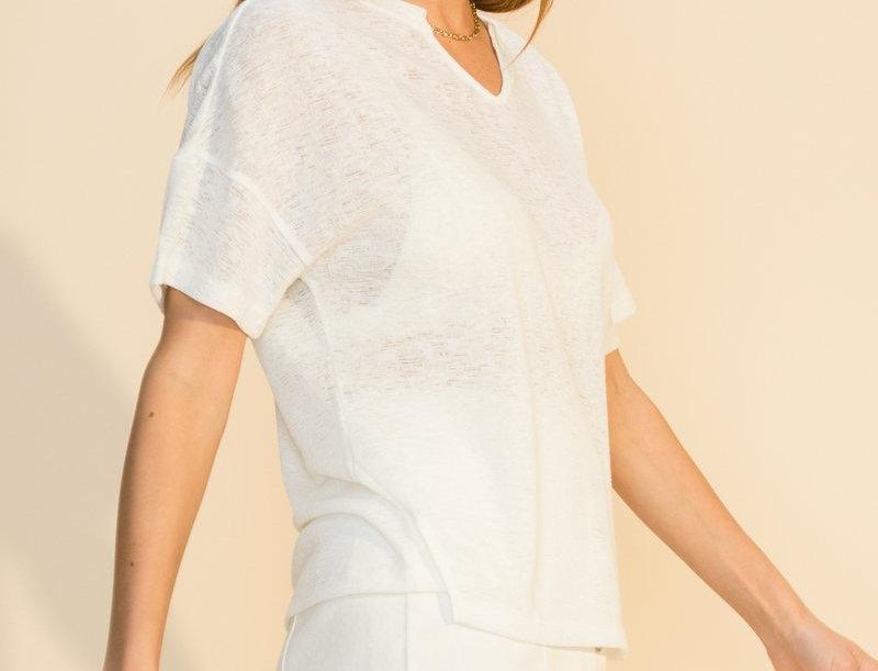 Summer Basic T.Shirt -White