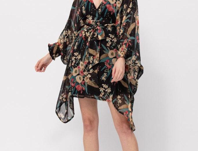 Tropicana Dress - Black Base