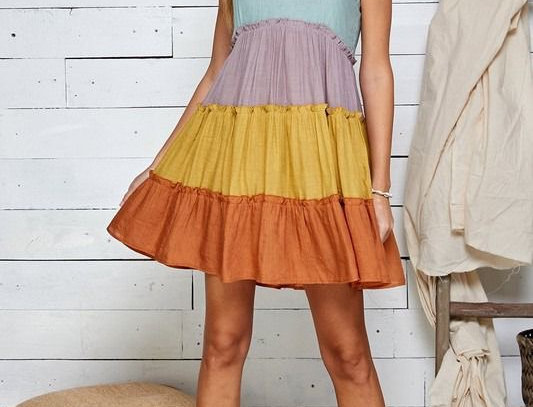 Bali Rainbow Dress