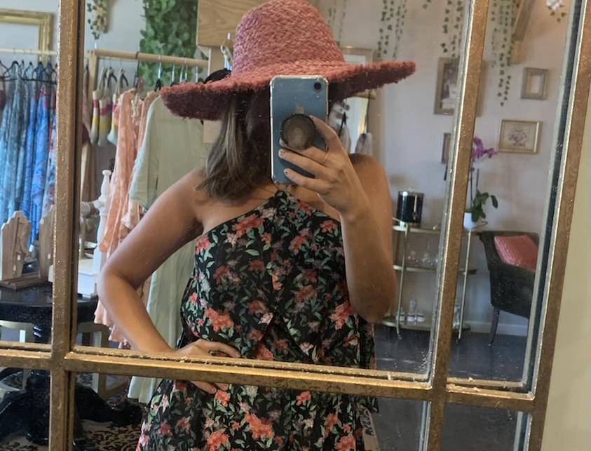 Maui Panama Hat - Guava