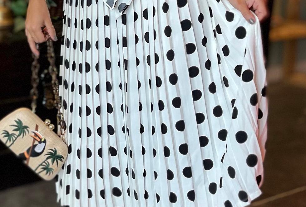 Sevilla Pleated Skirt