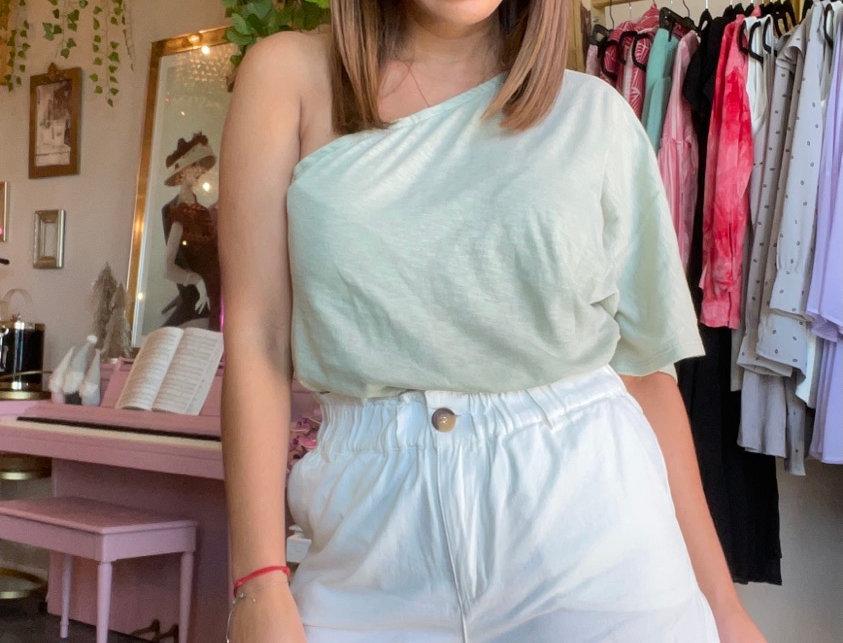 Portofino Shorts -White Jean