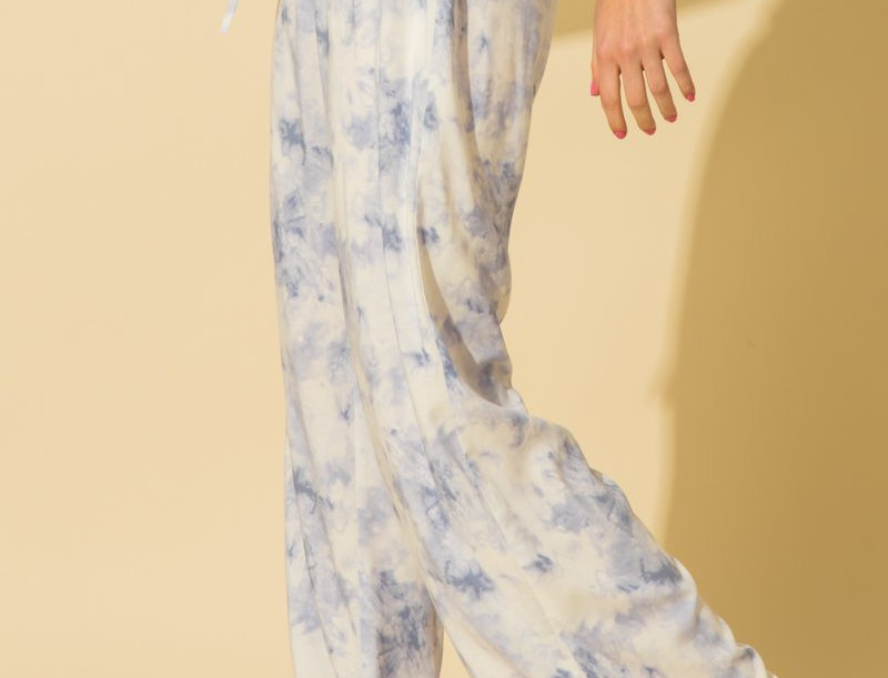Sky Blue Tie Dye Bottom
