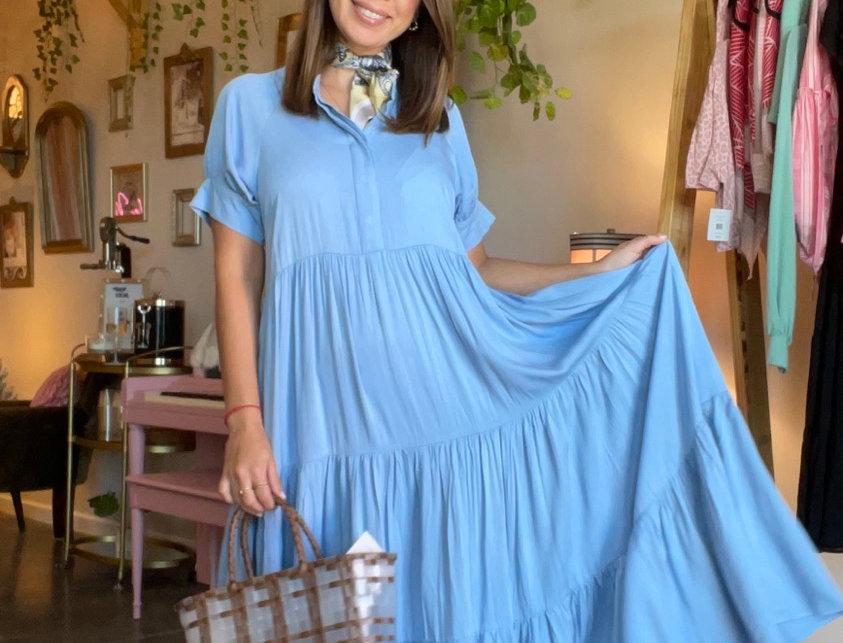 Aquazurra Maxi Dress