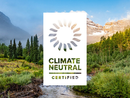 We Are Climate Neutral Certified!