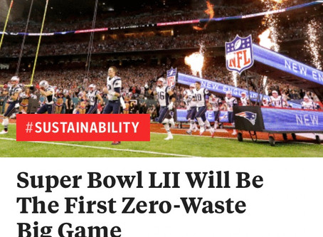 Zero-Waste Super Bowl?
