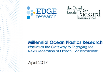 Millenial Ocean Plastics Research