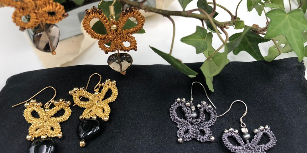 The Art of Tatting Earrings - CANCELLED