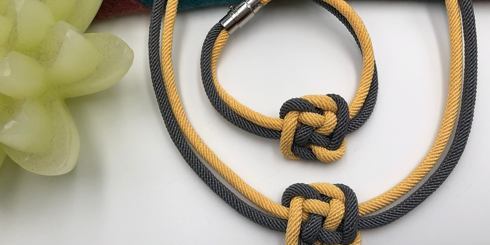 Stylish Knotted Necklace – Ceiling Knot