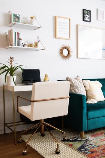 Eclectic and bohemian apartment designed by Miami based interior design studio KJ Design Collective