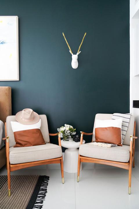 Modern Brickell studio apartment designed by KJ Design Collective