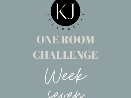 One Room Challenge Spring 2020 Week 7