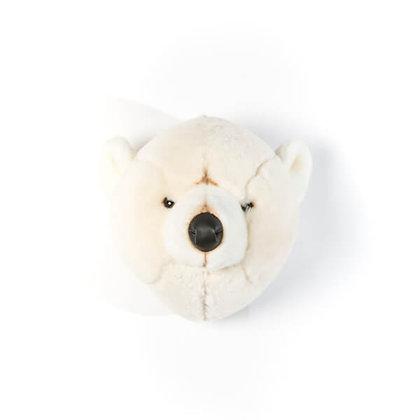 Trophée peluche Ours blanc Basile