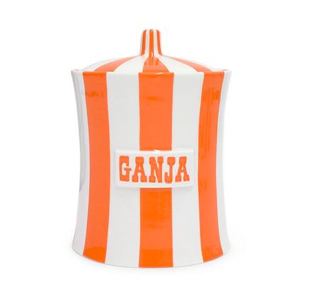 Boite hermétique GANJA orange