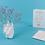 Thumbnail: Vase Coeur - à poser ou à fixer au mur