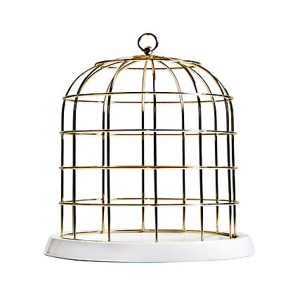 Cage à Oiseau Or Twitable