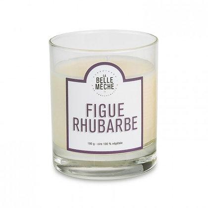 Bougie figue rhubarbe