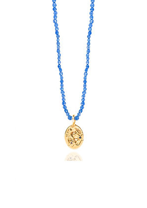 SEALSTONE RUNNER BLUE NECKLACE