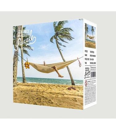 Puzzle hamac sur la plage
