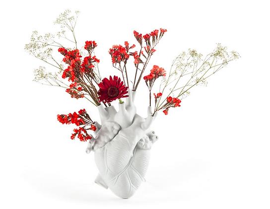 Vase Coeur - à poser ou à fixer au mur