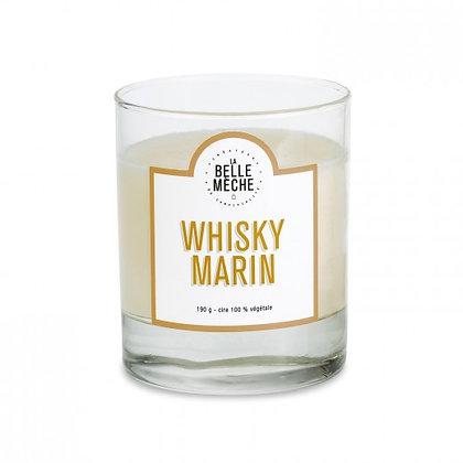 bougie Whisky marin