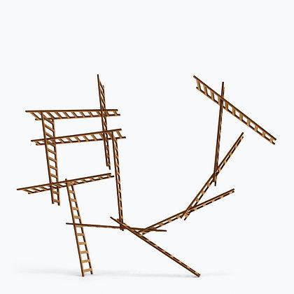 échelles bois