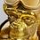 Thumbnail: lampe à poser singe doré plongeur