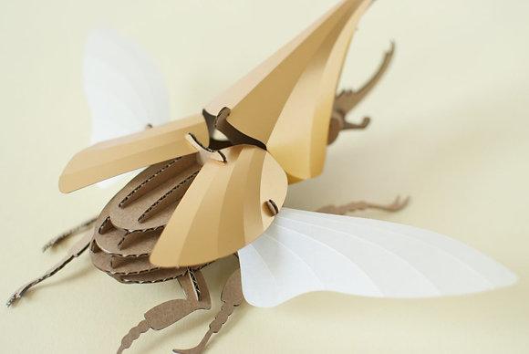 Puzzle 3D Hercules beetle DIY