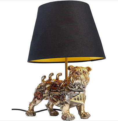 Chien lampe kare