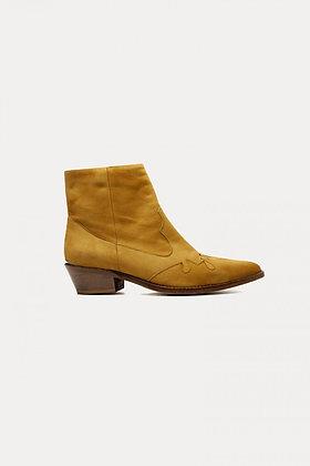 Boots velour honey