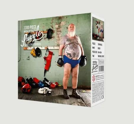 Puzzle Boxeur