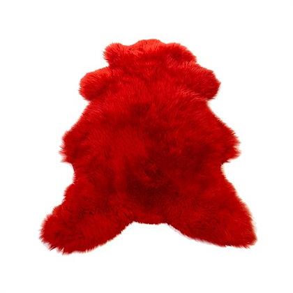 Peau mouton rouge