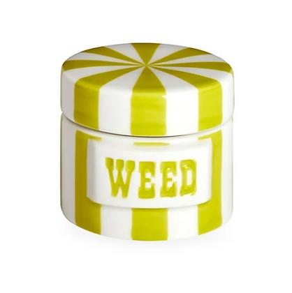 Boite weed hermetique verte