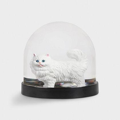 boule à paillette chat