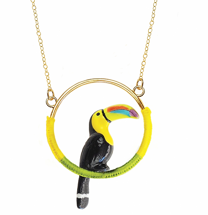 collier rond toucan