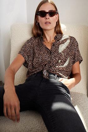 chemise Animal print shirt