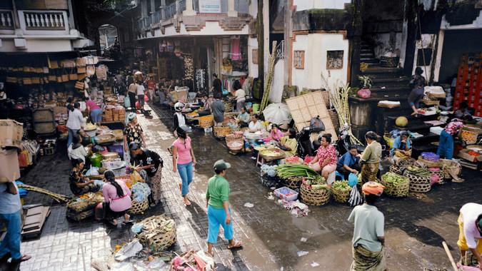 Informal market, Indonesia
