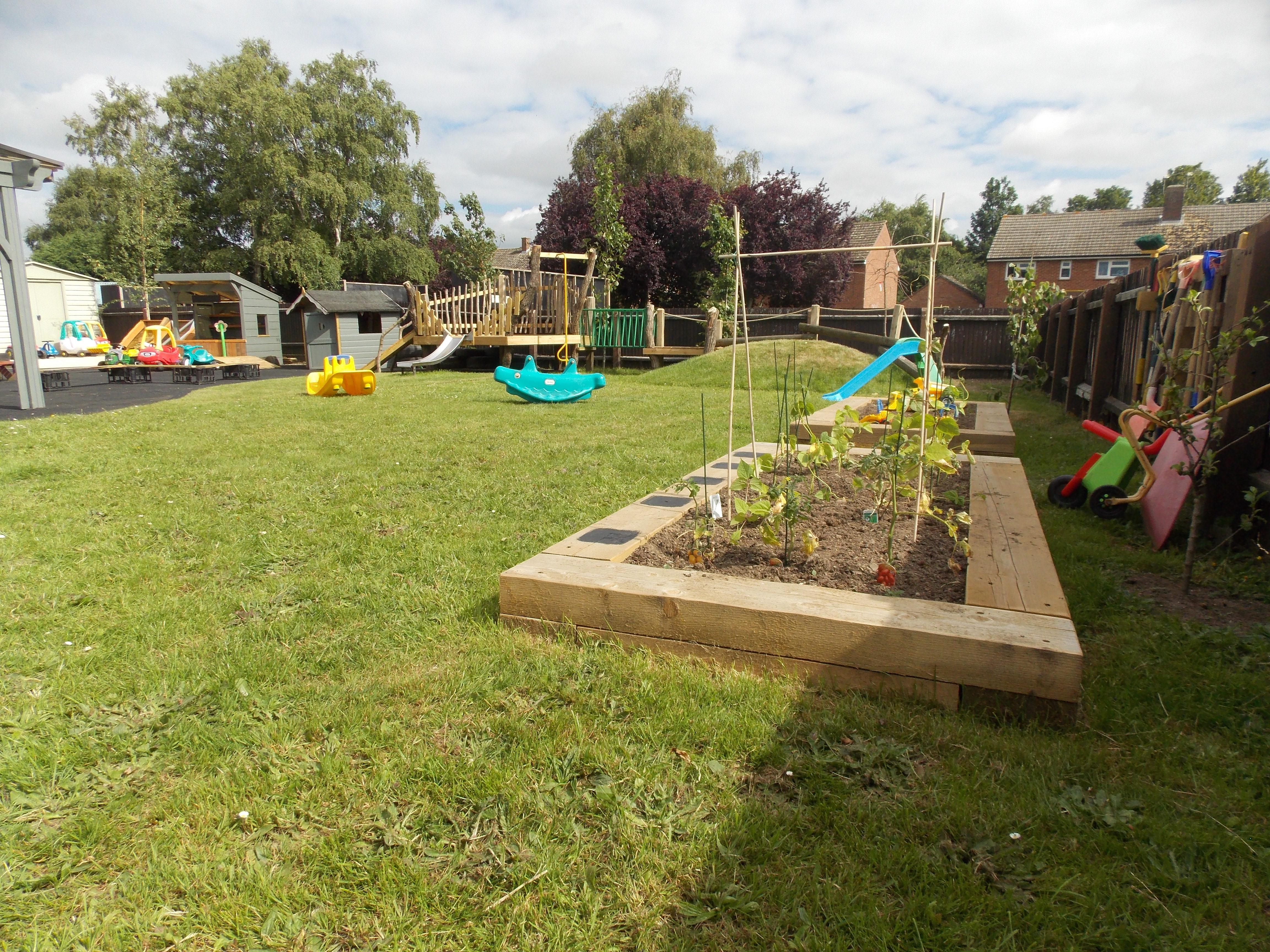 Garden Veg Beds
