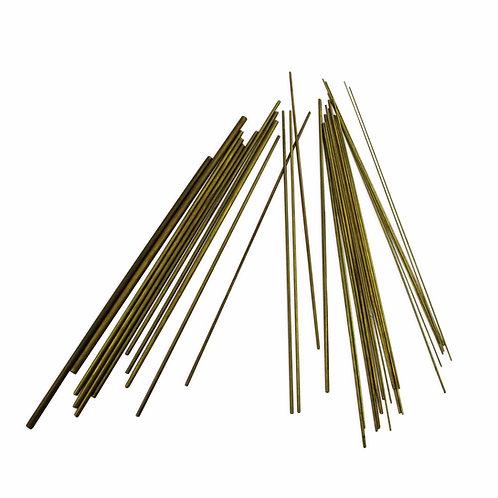 30+pc Brass Bushing Wire : 0.2 - 4mm