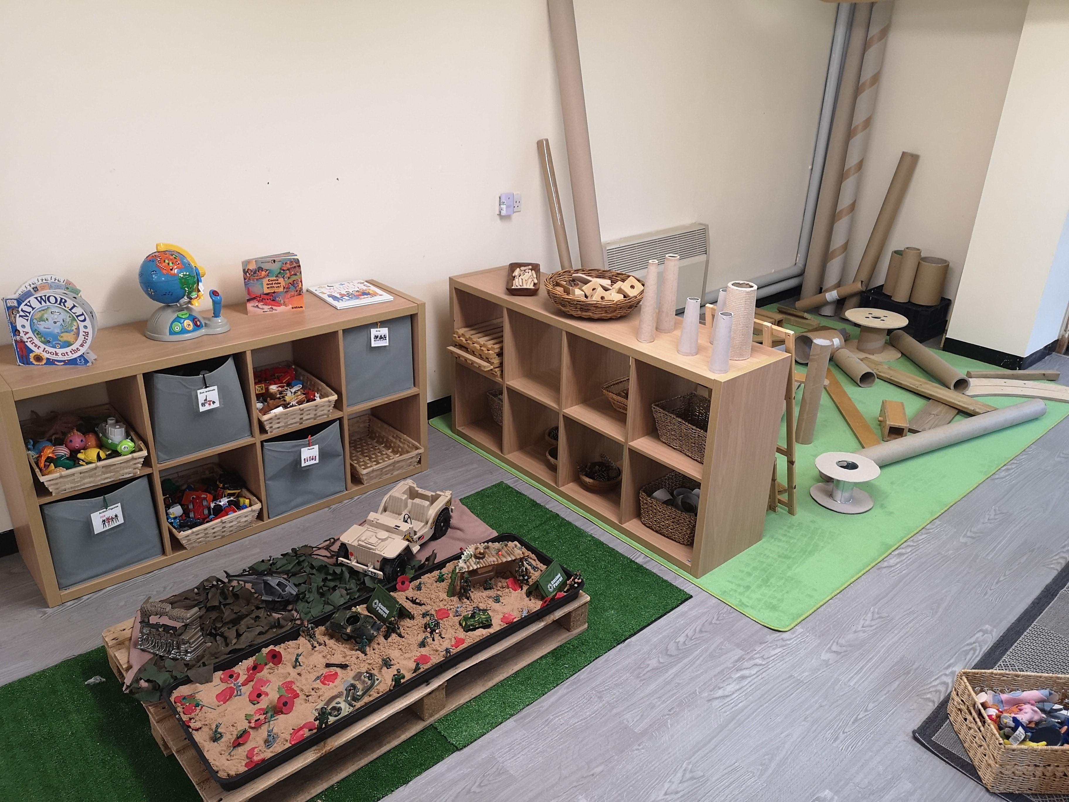 Small World Construction
