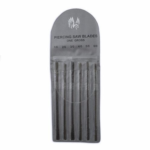 144 Jewellers' Saw Blades (Sizes 1/0-6/0)