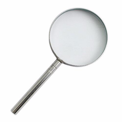 Handheld Glass Magnifier (5x Zoom)