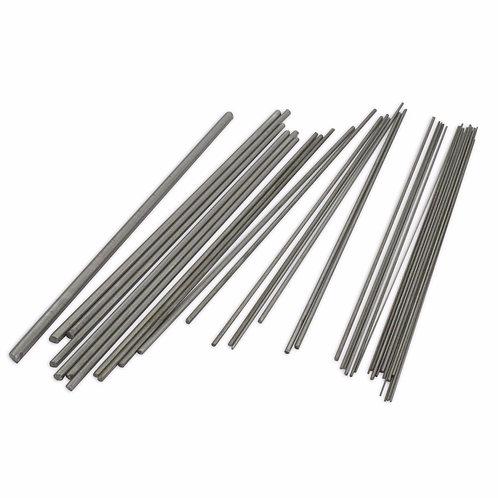 37pc Steel Bushing Wire : 0.2 - 4.0mm